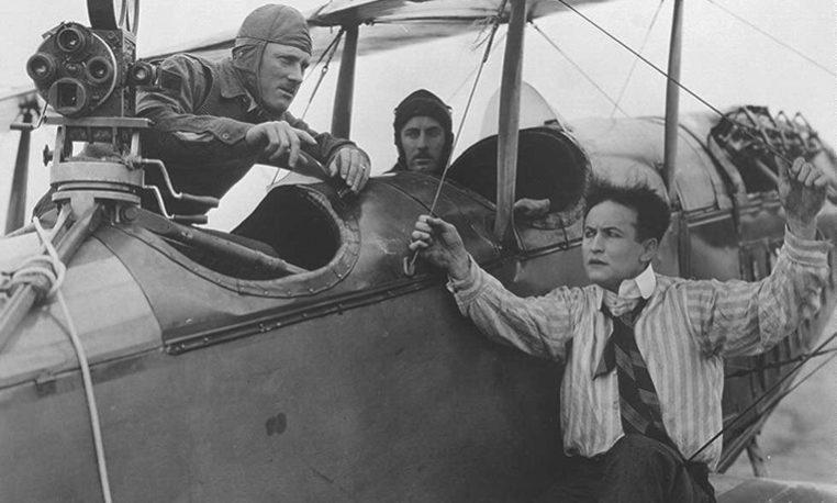 Houdini encadenado al cine