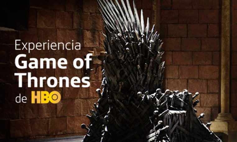 """Experiencia Game Of Thrones. De HBO"""