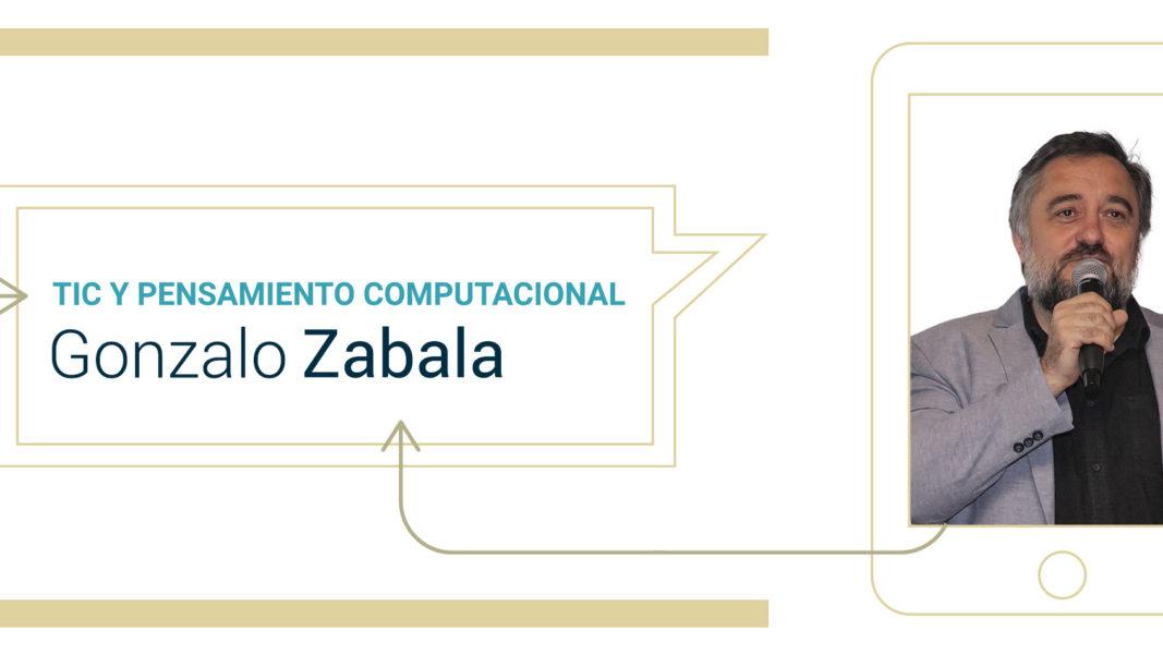 Encuentro con Gonzalo Zabala: ¡Socorro, un robot entró en mi aula!